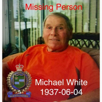 UPDATE Missing Persons - Michael White FOUND TIRED & THIRSTY