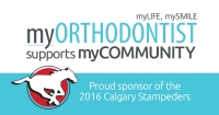 myORTHODONTIST Partners with Calgary Stampeders