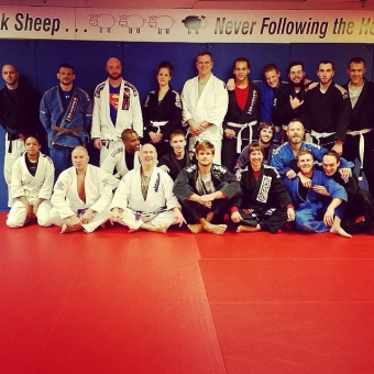 SBG BJJ Black Belts Run Successful Seminar at SBG Niagara