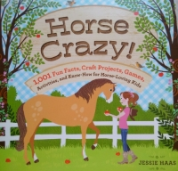 Horse Crazy by Jesse Haas includes 2 of Crochet Do Dads Patterns