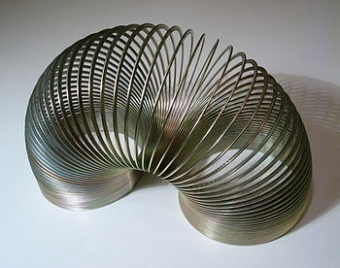 It's Slinky, It's Slinky. For Fun, it's a Wonderful Toy