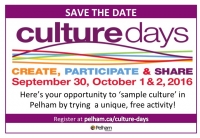 Celebrating Culture Days in Pelham