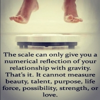 The Scale Doesn't Measure Sexy