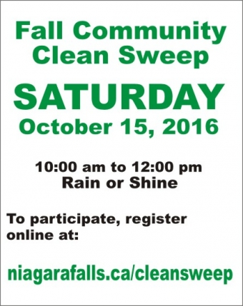 Volunteers Needed for Community Clean Sweep