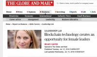#Blockchain technology creates a new opportunity for female leaders