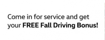 Show your VW some Love this Fall with our Service Specials