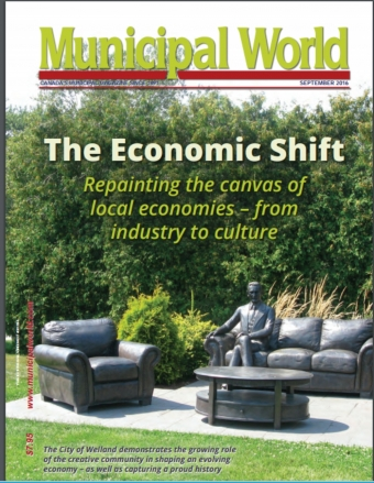 CITY OF WELLAND FEATURED IN MUNICIPAL WORLD PUBLICATION