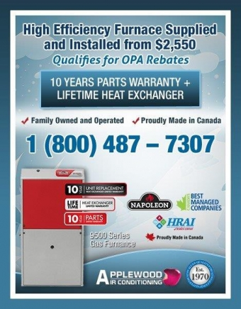 High Efficiency Furnace from $2,550 includes installation!