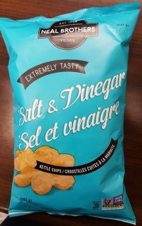 RECALL: Neal Brothers Foods brand Salt & Vinegar Kettle Chips