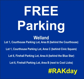 City of Welland participating in Random Act of Kindness Day