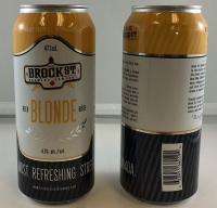 RECALL: Original Brock St. Brewing Blonde Beer