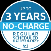 Up to 3 Years No Charge Maintenance!