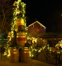 Jordan Village Pours on the Christmas Spirit