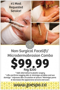 Non-Surgical Facelift/Microdermabrasion Combo