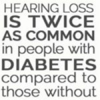 Diabetes and Hearing Loss