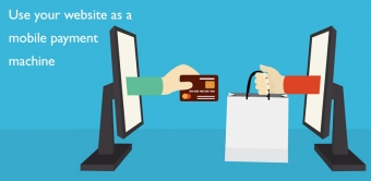 Use your website as a mobile payment machine