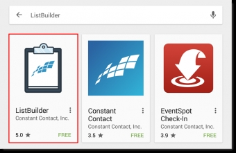 The Email List Builder App