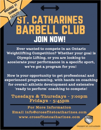 St. Catharines Barbell Club