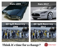 Now vs. Then - Oil/Fuel/Chemical Spill Response Products