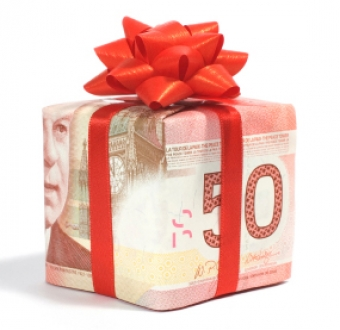 Are there any tax implications to giving a gift to my employees?