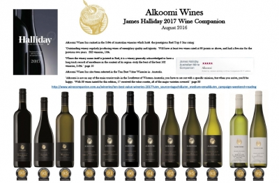 James Halliday's Alkoomi Wines 2017 Wine Companion