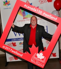 Wellanders Celebrate Canada's 150th at Launch Event