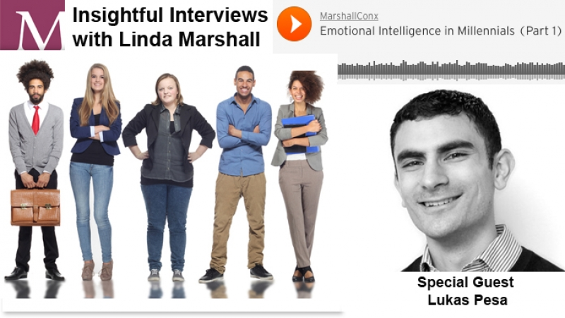 PODCAST | Emotional Intelligence in Millennials with Lukas Pesa  | Part 1