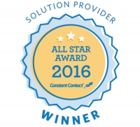 PRowl Communications Earns Constant Contact 2016 All Star