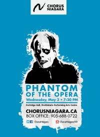 Chorus Niagara brings 1925 silent film Phantom of the Opera to life!