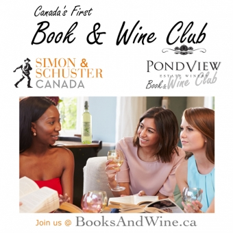 Saturday, May 13th- Join Us for the World Premiere of Canada's 1st Wine & Book Club!