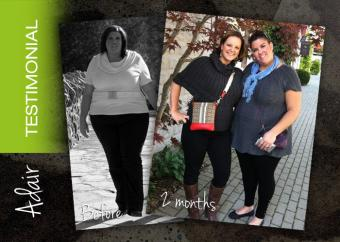 Adair makes a lifestyle change...and it changes her life!