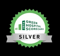 Green Hospital Scorecard – Silver Award/Top 5 Overall