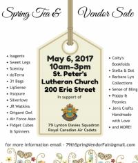 79TH LYNTON DAVIES SPRING TEA AND VENDOR FAIR