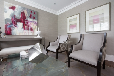 Luxe Toronto Sitting Room & Entrance