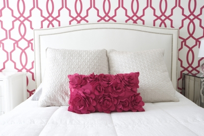 Touch of Pink: Fresh Bedroom & Ensuite