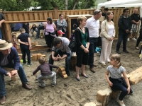 Naturalized Playground Grand Opening