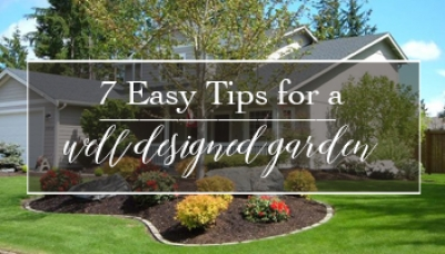 7 Simple Tips for a Well Designed Garden | Gemmell's Garden Centre