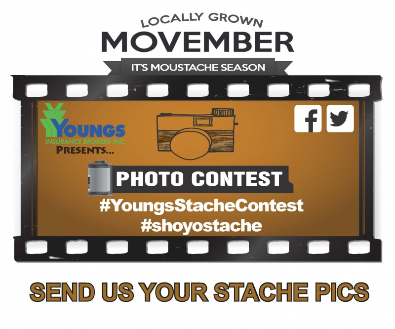 Movember Mustache #PhotoContest