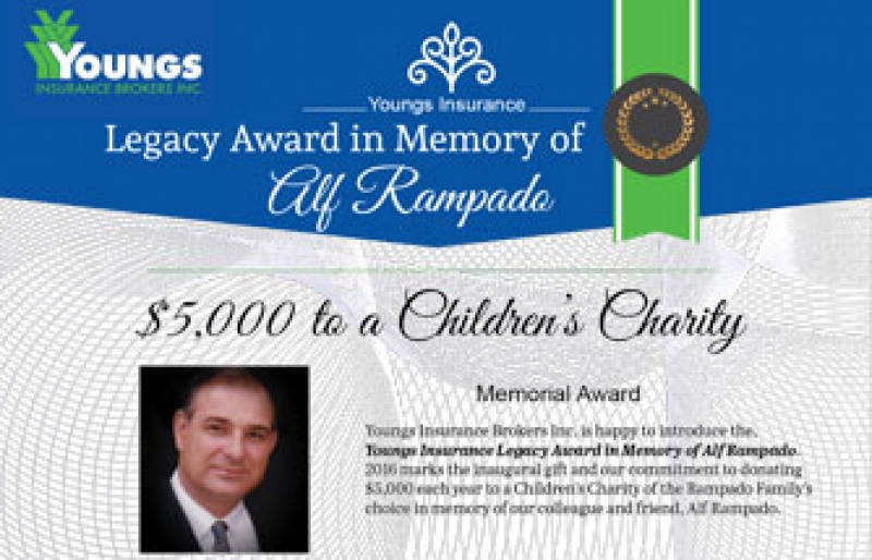 The Alf Rampado Legacy Award