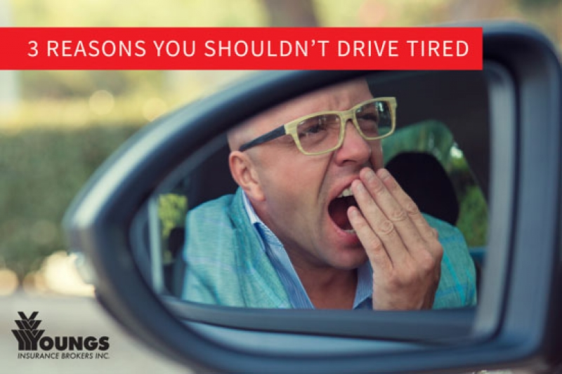 The Top 3 Reasons You Shouldn't Drive When You Are Tired