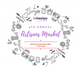 4th Annual Artisans Market - Saturday, September 30th