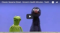 "A ""Health Minute"" with Grover & Kermit the Frog"