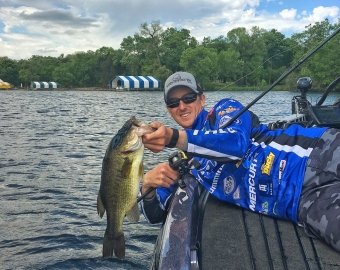 Tournament angling in the mid-west with The Rod Glove Pro Staff, Glenn Walker