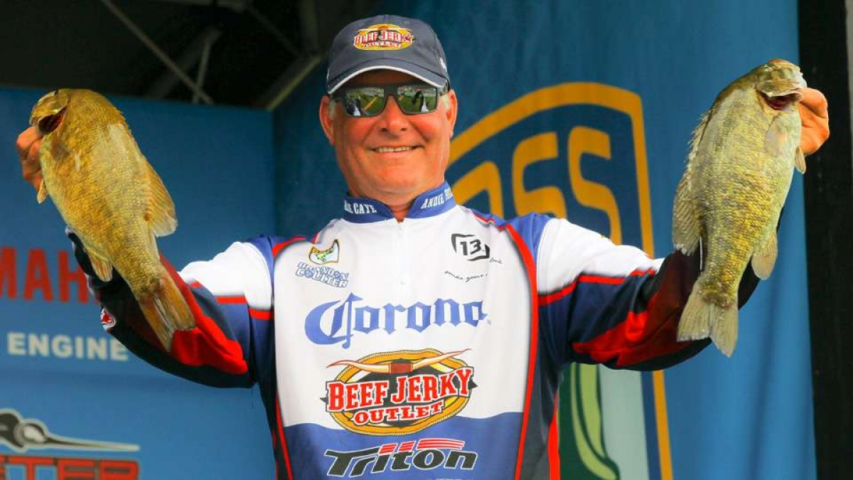 X Zone Lures was a proven winner at the Huk Bassmaster Elite on St. Lawrence River