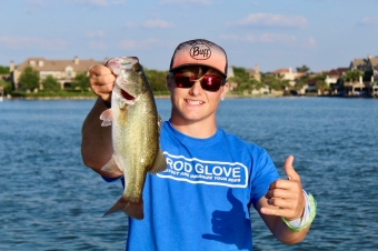 One of the youngest semi-professional tournament anglers, The Rod Glove is proud to sponsor Keegan Stroud