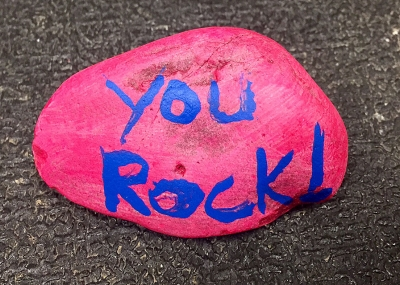 Kindness Rocks Project spreads to hospital
