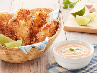 Coconut Chicken Fingers Recipe - A New Fave For the Kids