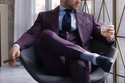 Why invest in a custom made fall suit when you have a healthy weekly rotation of 'all season' suits?