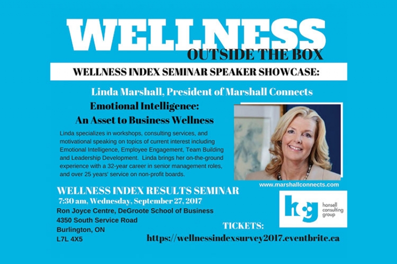 Keynote Speaker | Wellness Index Results Conference | September 27, 2017