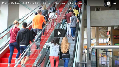 Video - Private Screening of Man of Steel for Orthostyle Patients